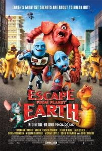 Clips From - Escape From Planet Earth 3D - now up on The Lowdown Under.