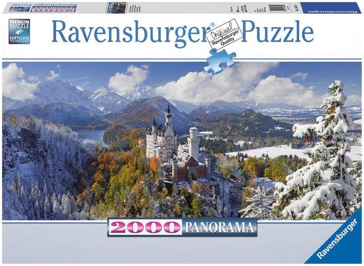 Neuschwanstein Castle Panoramic Puzzle - 2000-Piece