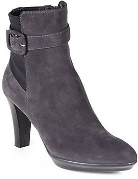 Aquatalia by Marvin K Rexana Suede Platform Ankle Boots on shopstyle.com