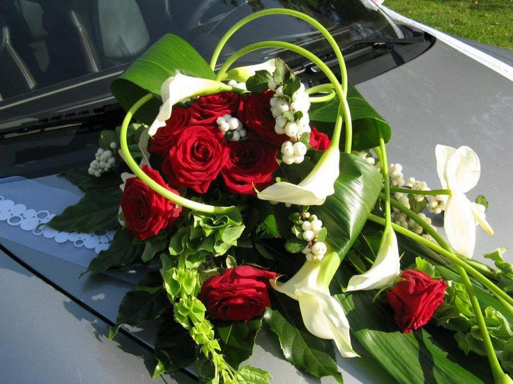 20 best images about voiture mariage on pinterest mariage saints and compo - Composition floral mariage ...