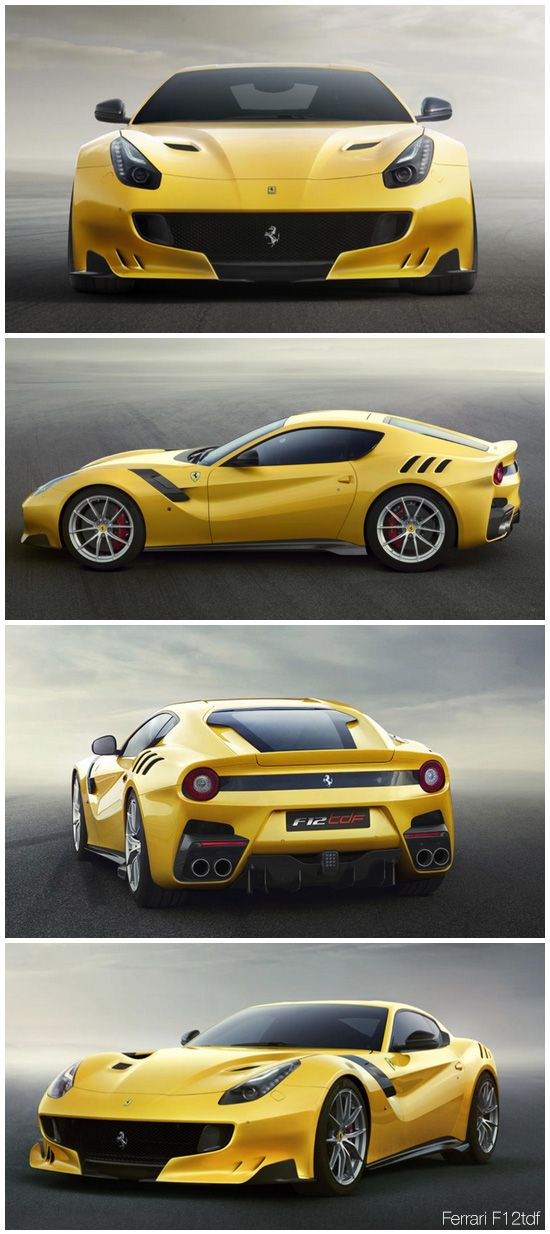 ferrari f12tdf car pinterest sportif voitures et voitures rares. Black Bedroom Furniture Sets. Home Design Ideas