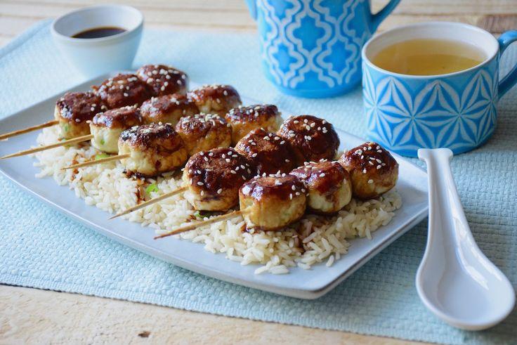 De la boulette rapide... - Boulettes de poulet express à la japonaise