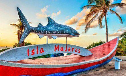 imagen para Tour a Isla Mujeres para 1 o 2 adultos con opción a menor