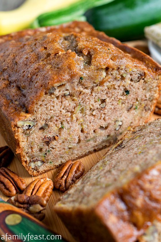 The Best Zucchini Bread Ever! This is the recipe you've been waiting for! Moist and delicious! #recipe