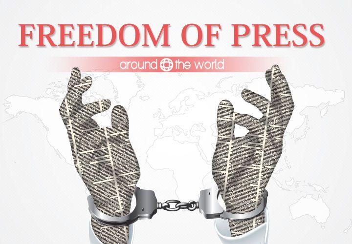 Freedom of Press Around the World – Rundown (in slides) of freedom of press cases in India, USA, UK, Russia, China, Pakistan, Brazil, Mexico, Turkey, Iran, Egypt, North Korea, etc.