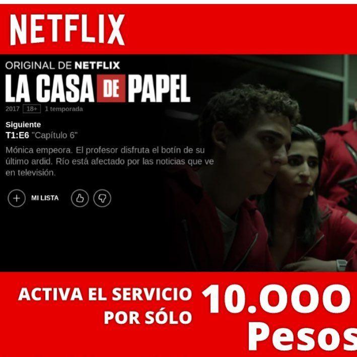NETFLIX SPOTIFY HBO GO  Ahora también cuentas mensuales y anuales ENTREGA INMEDIATA Membresías Anuales 100% Garantizadas $100.000 Cuentas Mensuales $ 10.000 Cuenta Trimestrales $ 30.000  4 pantallas en Full HD   Whatsaap al: 3185008685  #netflix #netflixcolombia #quierominetflix #netflixbogota #seriesnetflix #cuentasnetflix #netflixanual #12mesesnetflix #netflix4pantallas #netflixfullhd #netflixparatodos #minetflix #netflixlove #netflixmensual #netflixalmejorprecio #bogota #villavicencio…