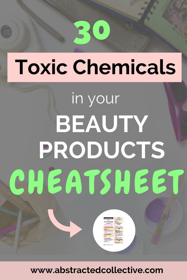 30 Toxic Chemicals To Avoid In Skincare Products Skin Care Toxic Chemicals Harmful Chemicals
