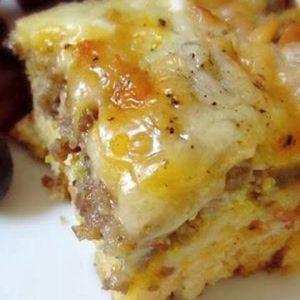 Sausage, Egg and Biscuits Casserole | MyRecipes.com