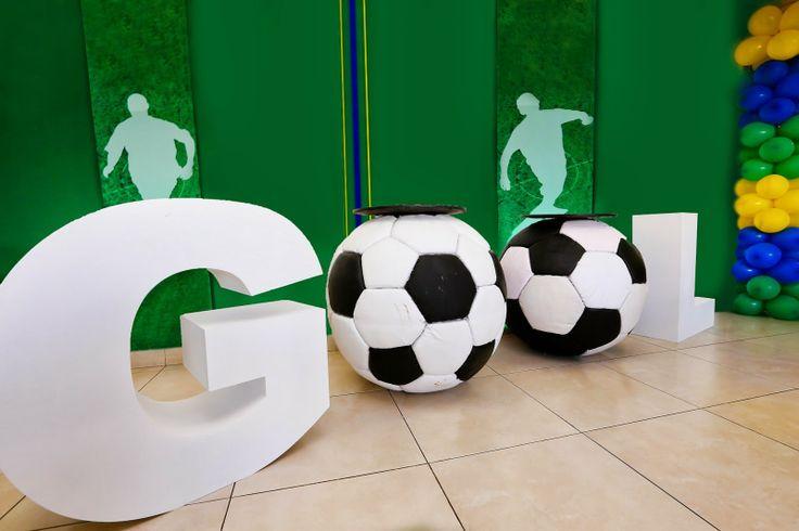 Festa Party Futebol Soccer Basil Brazil Encontrando Ideias…