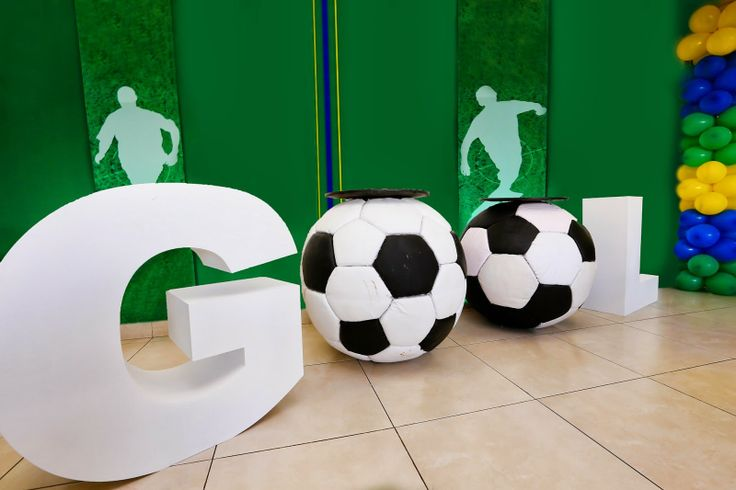 Festa Party Futebol Soccer Basil Brazil Encontrando Ideias -http://www.festascriativas.com.br/