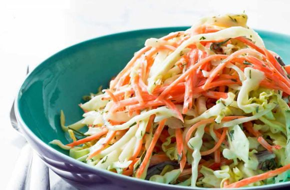 Coleslaw asian style