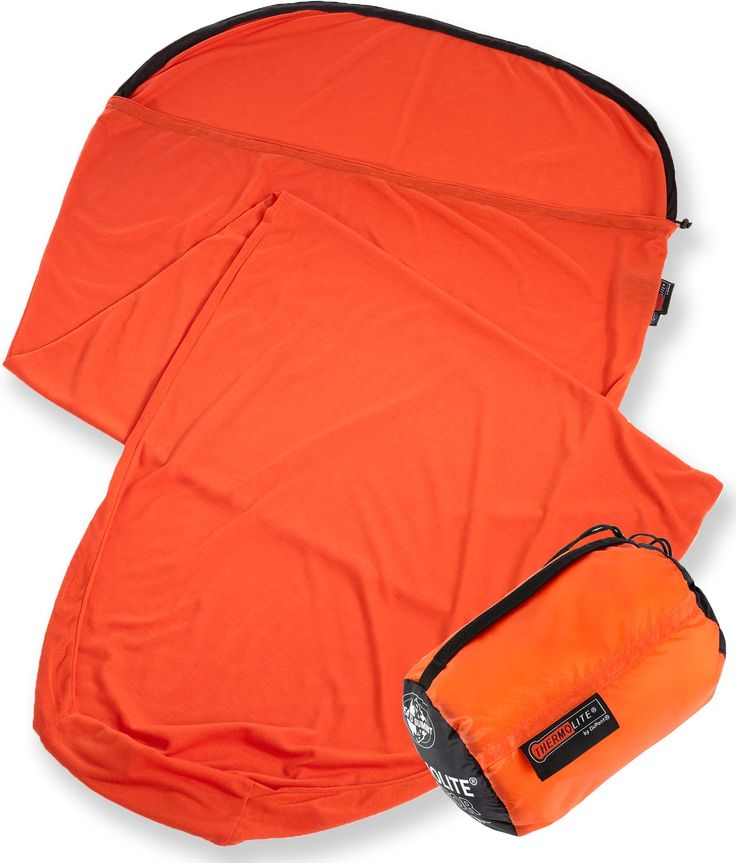 Sea to Summit Thermolite Reactor Extreme Mummy Bag Liner adds approximately 25 deg of warmth to a sleeping bag. I love this... :-)