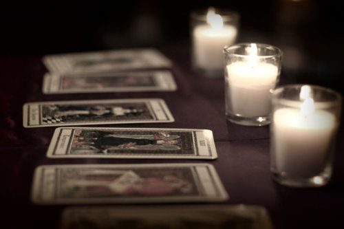 """Open with Fiora) I place a few cards on the table, idly shuffling them around. I soon hear footsteps and grin, """"Come on in,"""" I call, looking over. """" I don't bite."""" Much."""