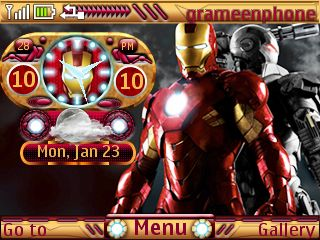 Free Iron Man Live theme by bdroid on Tehkseven