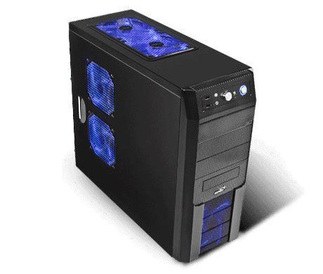 JVTPC ENKI Ultra 4K PC Gamer X8 16GB RAM Video 2GB R9 270X 2TB  Procesador AMD FX 8 Núcleos 16GB RAM 1600MHZ Tarjeta de Video R9 270X Windows 7 Original 64 Bits