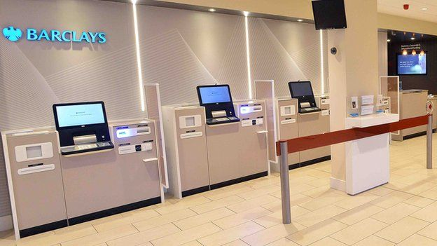 'The emergence of the counter-free bank branch.'   What are your thoughts on tech savvy self service points?