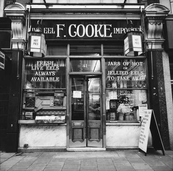 F. Cooke's eel and pie shop, Dalston   Museum of London