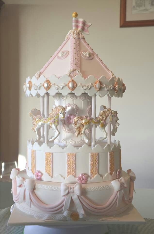 The carousel cake table is super adorable, it could be done for a baby shower or baby's first birthday or something. Description from pinterest.com. I searched for this on bing.com/images