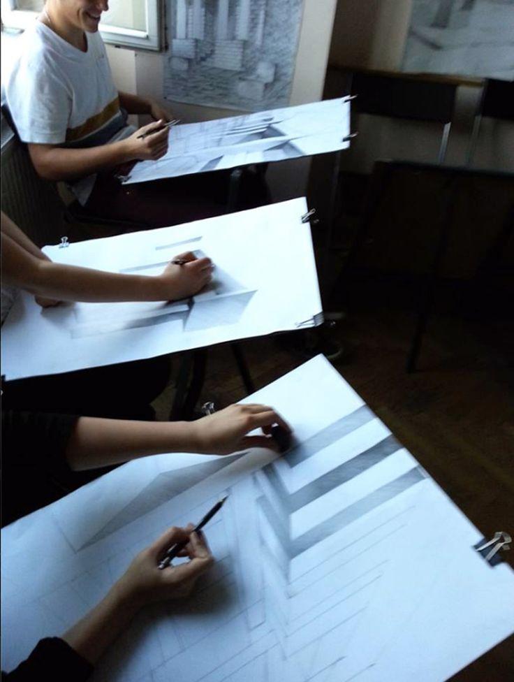 Kurs Architektury w Szkole rysunku Elipsa Krowoderska 6/14 Kraków