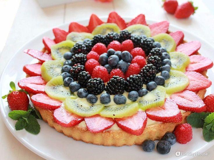 #Crostata di #frutta con #crema pasticcera della nostra utente Paola! Entra anche tu nella #Community ed inviaci le tue foto > bit.ly/1WfUtR6
