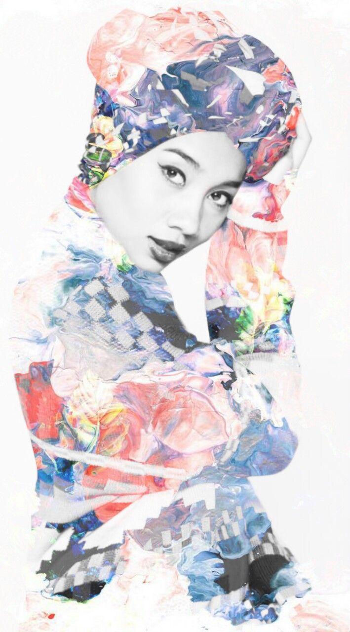 #hijabigal Yuna Zarai in a beautiful, beautiful picture ...