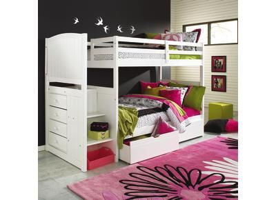 Badcock Bunk Beds Brilliant Forrester Twin twin Staircase Bunk Bed
