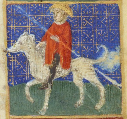 Taurus Hours use of Paris [Hours of Jeanne de France]. Date of publication: 1440-1460 Contributor: Master of Jouvenel des Ursin Contributor: Jean Fouquet Type: manuscript Language: Latin
