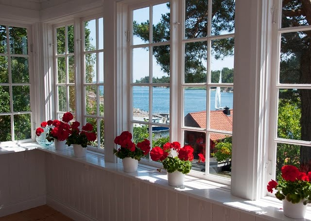 window, Sävö, Sweden
