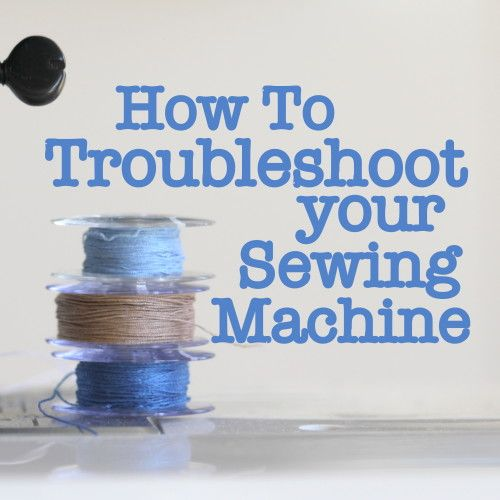 How To Troubleshoot your Sewing Machine - Before you take your machine in for a repair (the cost usually starts at $100 if you are lucky!), spend time learning how your machine works. Each machine is different, depending on make and model...cleaning your machine is easy. If you sew about 15 hours, it is time to clean your machine.