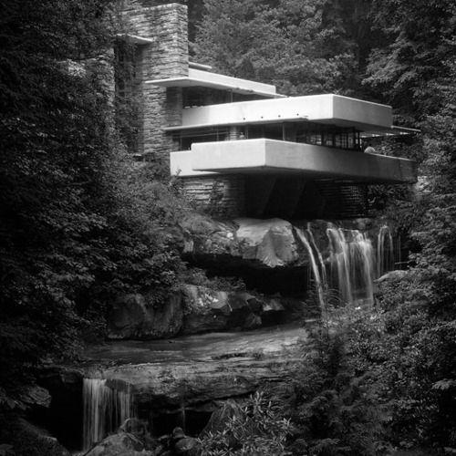 """""""Falling Water"""", Frank Lloyd Wright"""