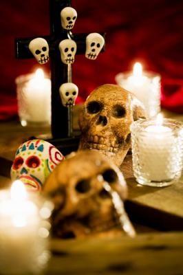 How to Make Dia De Las Muertos Skulls Without Molds