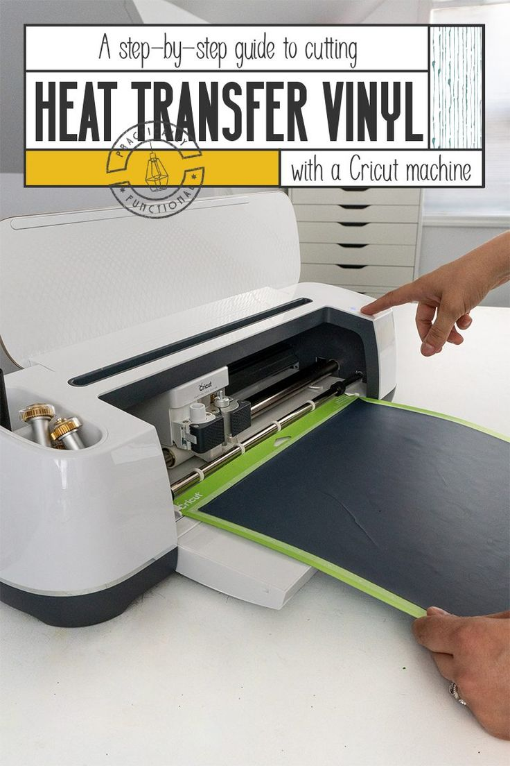 How To Use Heat Transfer Vinyl With A Cricut Machine A