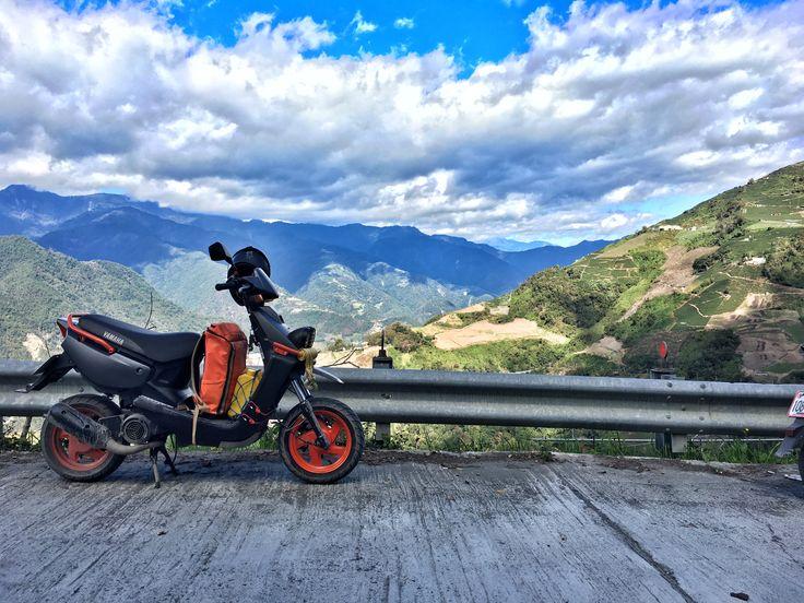 Off-road bws100 力行產業道路