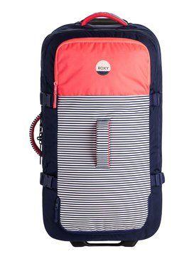 roxy, Fly Away Too Large Wheelie Suitcase, NEON GRAPEFRUIT (nkn0)
