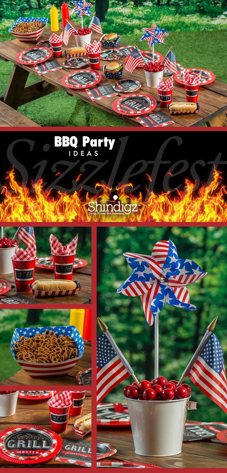 Create the ultimate summer BBQ with party suppliers from Shindigz!