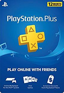 Just got this alert - PS Plus 12 months for $40 on Amazon