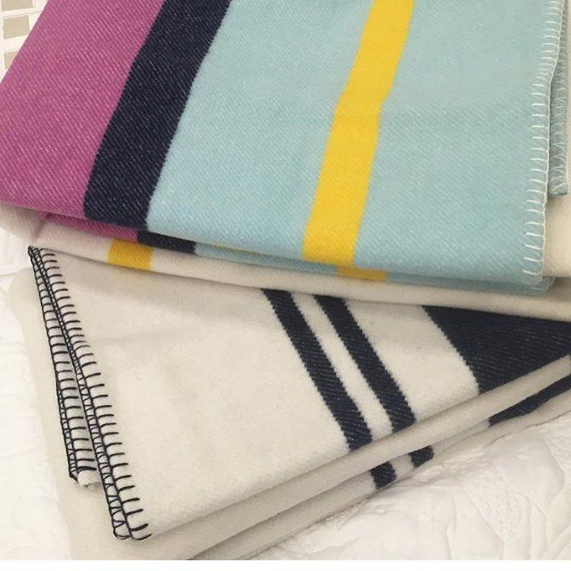 We have a United Nations collection of #blankets in store | online from #England to #Italy and back again.  The beauties pictured are from the Scarlet & Argent range @awhainsworth 🇬🇧 in store only for these two as they really need to be seen .  .  .