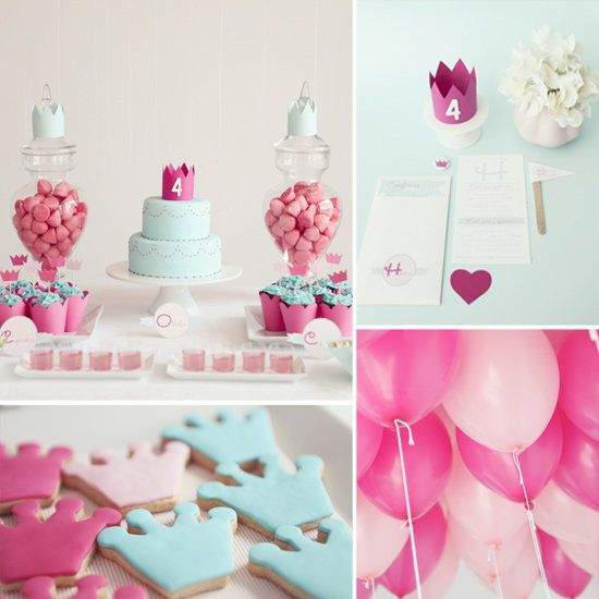 Hear ye, hear ye! A princess-themed birthday party can be a simple and beautiful affair without having to be over-the-top fabulous. Source: Branco Prata