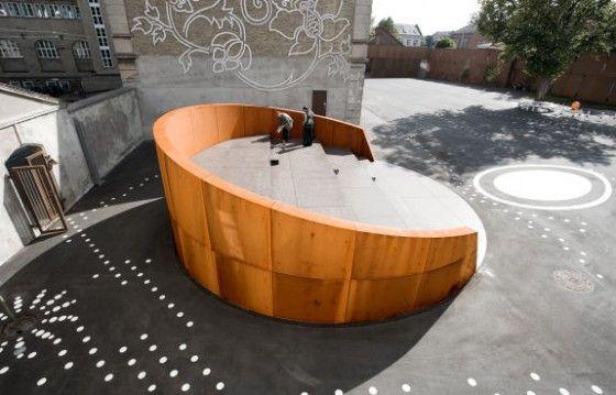 Small amphitheater - Nicolai Cultural Center | Kristine Jensen | Tegnestue | Kolding, Netherlands | 2013