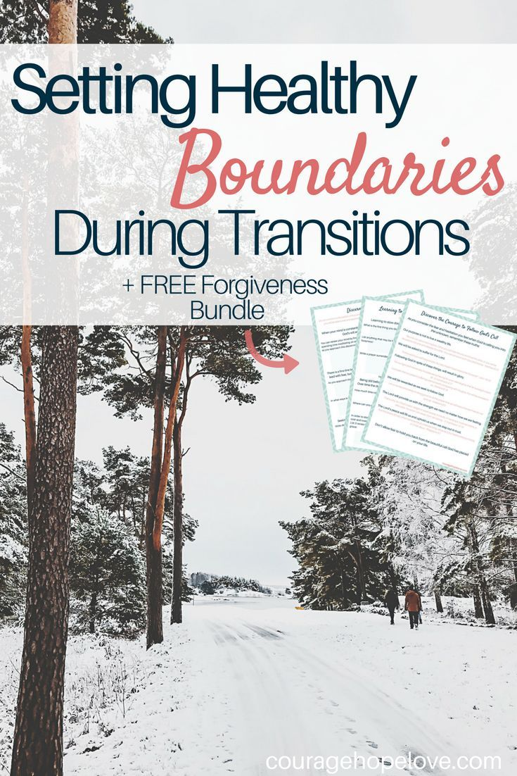 Establishing what you need in order to find emotional and spiritual well-being is essential during life transitions. So how do you set these boundaries? Click to read about how to set healthy boundaries during transitions.