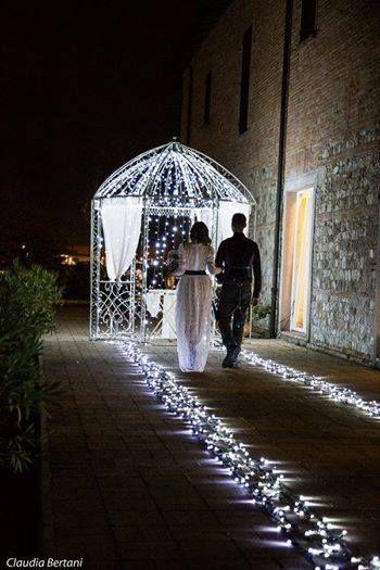 Open Day, Novembre 2014. Allestimento luminoso a cura di Eventi Wedding. Presso Corte Dei Paduli, Reggio E., Italy.