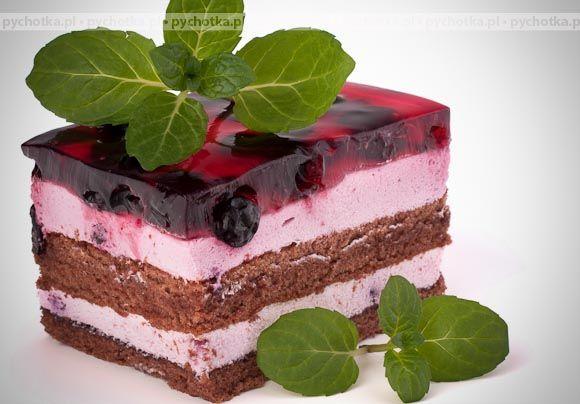 Jagodowy tort