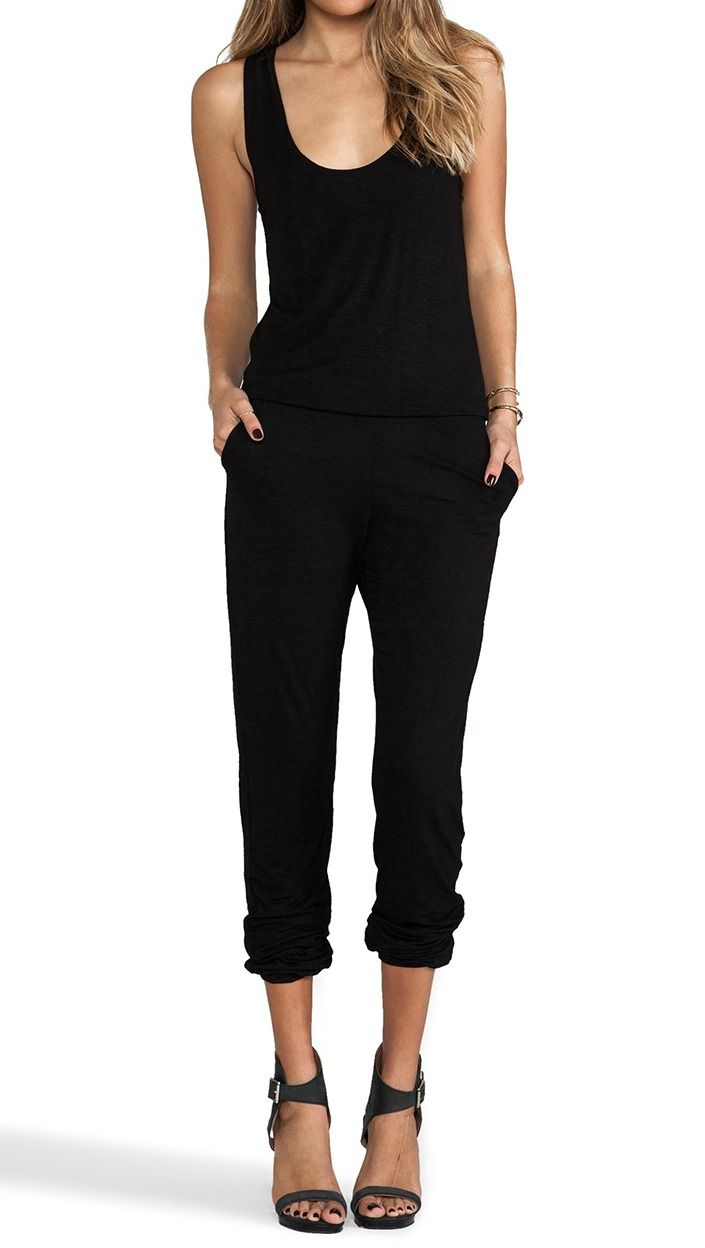 The 25  best Casual black jumpsuit ideas on Pinterest | Women's ...
