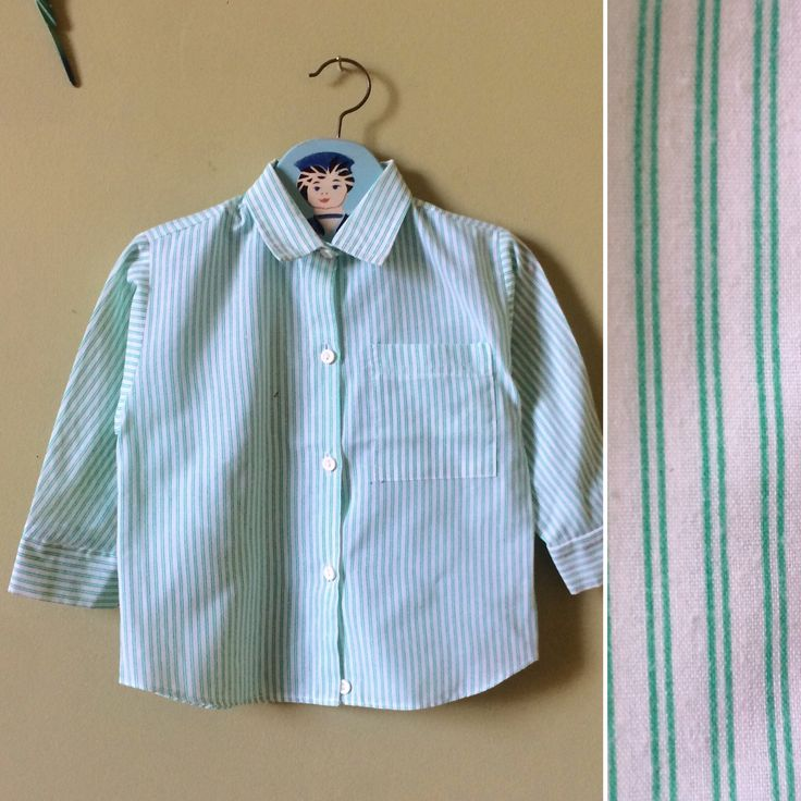 Childrens vintage boys shirt top. Vintage toddlers. 1980s Mothercare. White & green checked. Age 2 years - age 3 years. vintage kids clothes by YoungTeamVintage on Etsy https://www.etsy.com/uk/listing/561225761/childrens-vintage-boys-shirt-top-vintage