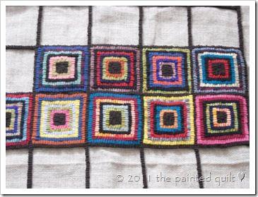 rug hooking design