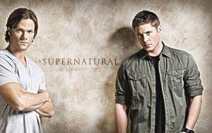 Preview wallpaper supernatural, actors, jared padalecki, jensen ackles, sam winchester, dean winchester