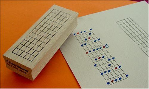 The Ultimate Guitar Chord Rubber Stamp - 12 Frets Stampola Rubber Stamps http://www.amazon.com/dp/B000FZZ0CI/ref=cm_sw_r_pi_dp_rPTyub0YH99SJ