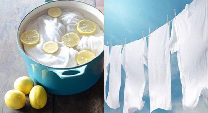 7 semplici modi per ridare splendore ai capi di abbigliamento bianchi