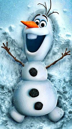 Disney Frozen #Olaf #Snowman free iPhone HD wallpaper. Also see beautiful christmas screen savers at www.fabuloussavers.com/christmasscreensavers.shtml