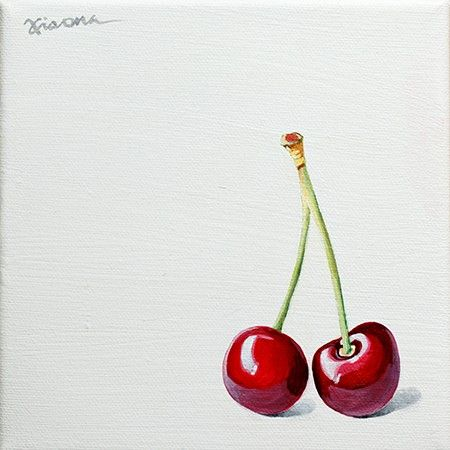 XIAONA -- Original Painting realism Fine Art HANDPAINTED on canvas- I think I can replicate this!